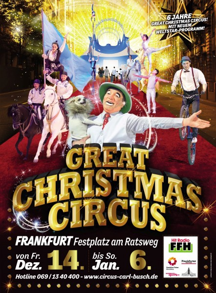 Great Christmas Circus Frankfurt SONDERANGEBOT
